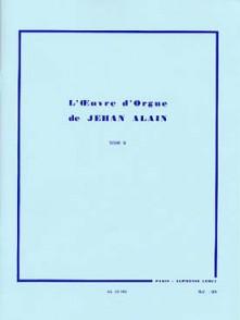 ALAIN J. L'OEUVRE D'ORGUE VOL 2