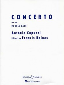 CAPUZZI A. CONCERTO FA MAJEUR CONTREBASSE