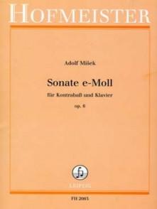 MISEK A. SONATE OP 6 CONTREBASSE