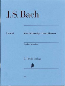 BACH J.S. INVENTIONS A 2 VOIX PIANO