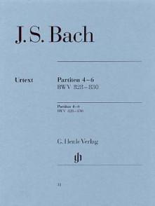 BACH J.S. 3 PARTITAS VOL 2 PIANO