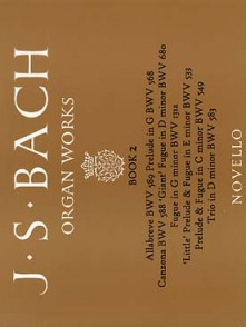 BACH J.S. ORGAN WORKS VOL 2 ORGUE