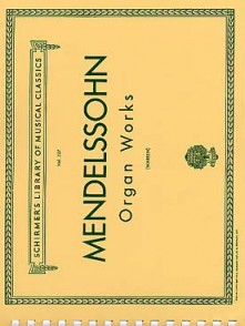 MENDELSSOHN F. OEUVRES POUR ORGUE
