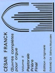 FRANCK C. OEUVRES COMPLETES VOL 2 ORGUE