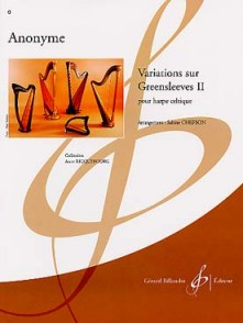 ANONYME VARIATIONS SUR GREENSLEEVES II HARPE
