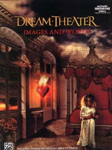 DREAM THEATER IMAGES AND WORDS GUITARE
