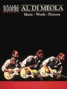 DI MEOLA AL MUSIC WORDS PICTURES GUITARE
