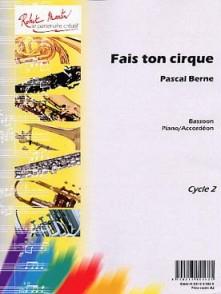 BERNE P. FAIS TON CIRQUE SAXO TENOR