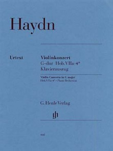HAYDN J. CONCERTO HOBVIIA:4 SOL MAJEUR VIOLON