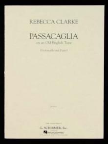 CLARKE R. PASSACAGLIA VIOLONCELLE