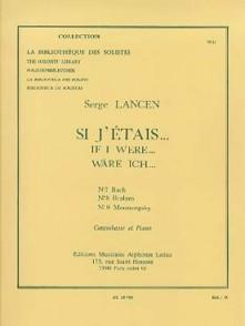 LANCEN S. SI J'ETAIS ...N°7 CONTREBASSE