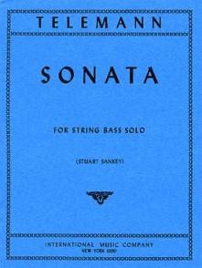 TELEMANN G.P. SONATE CONTREBASSE SOLO