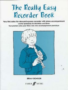 REALLY EASY RECORDER BOOK FLUTE A BEC