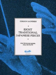 SAUNDERS G. PIECES TRADITIONNELLES DU JAPON FLUTE A BEC