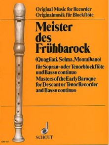 MEISTER DES FRUHBAROCK FLUTE A BEC