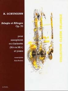 SCHUMANN R. ADAGIO ET ALLEGRO SAXO TENOR