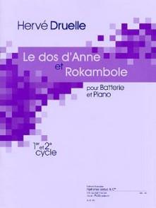 DRUELLE H. LE DOS D'ANNE - ROKAMBOLE BATTERIE