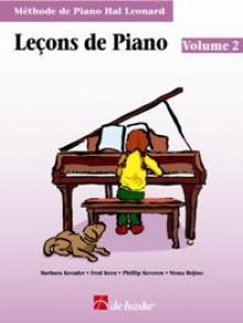 HAL LEONARD LECONS DE PIANO VOL 2