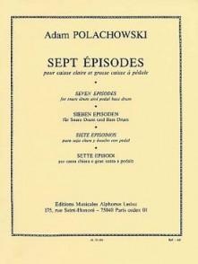 POLACHOWSKI A. EPISODES PERCUSSIONS