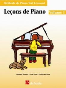 HAL LEONARD LECONS DE PIANO VOL 3