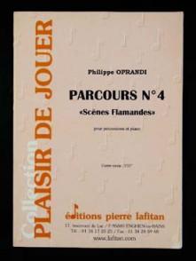 OPRANDI P. PARCOURS N°4 PERCUSSION