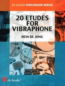 JONG H. ETUDES VIBRAPHONE