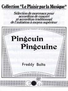BALTA F. PINGOUIN PINGOUINE ACCORDEON