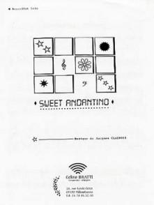 CLAIROIX J. SWEET ANDANTINO ACCORDEON