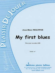 PHILIPPON J.M. MY FIRST BLUES ACCORDEON
