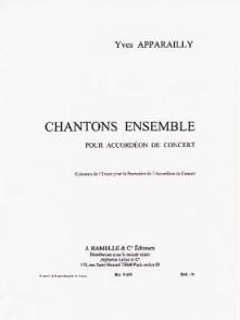 APPARAILLY Y. CHANTONS ENSEMBLE ACCORDEON