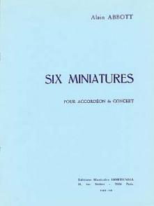 ABBOTT A. MINIATURES ACCORDEON