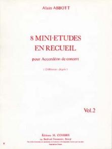 ABBOTT A. MINI ETUDES VOL 2 ACCORDEON