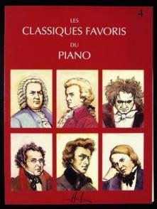 CLASSIQUES FAVORIS DU PIANO VOL 4