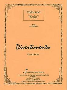 DUCHESNE A. DIVERTIMENTO PIANO