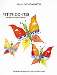 CHOSTAKOVITCH D. PETITS CONTES OP 69 PIANO