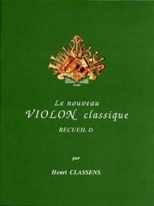 CLASSENS H. LE NOUVEAU VIOLON CLASSIQUE VOL D