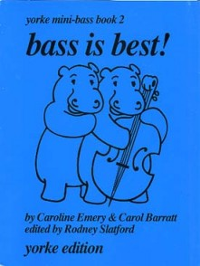 EMERY C. BASS IS BEST MINI BASS VOL 2 CONTREBASSE