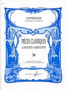 PIECES CLASSIQUES VOL 1B CONTREBASSE