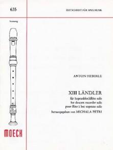 HEBERLE A. LANDLER FLUTE A BEC SOLO
