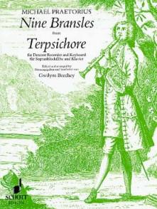PRAETORIUS M. BRANSLES FROM TERPSICHORE FLUTE A BEC