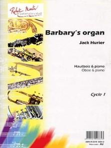 HURIER J. BARBARY'S ORGAN HAUTBOIS