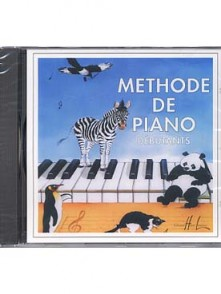 HERVE C./POUILLARD J. CD METHODE DE PIANO