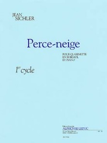SICHLER J. PERCE-NEIGE CLARINETTE