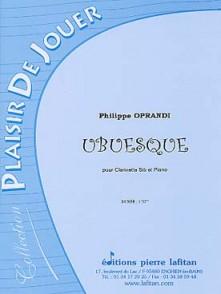 OPRANDI P. UBUESQUE CLARINETTE