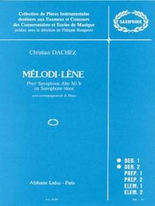 DACHEZ C. MELODI-LENE SAXO MIB OU SIB