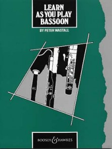 WASTALL P. LEARN AS YOU PLAY BASSOON