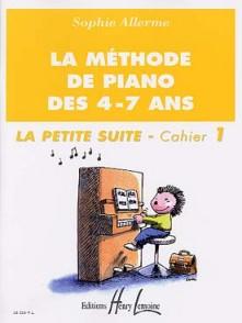 ALLERME S. METHODE DE PIANO DES 4 - 7 ANS PETITE SUITE VOL 1