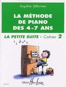 ALLERME S. METHODE DE PIANO DES 4 - 7 ANS PETITE SUITE VOL 2