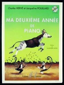 HERVE C./POUILLARD J. MA DEUXIEME ANNEE DE PIANO