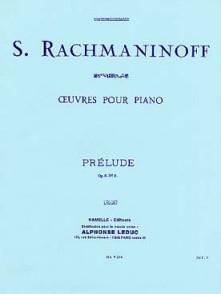 RACHMANINOV S. PRELUDE OP 3 N°2 PIANO